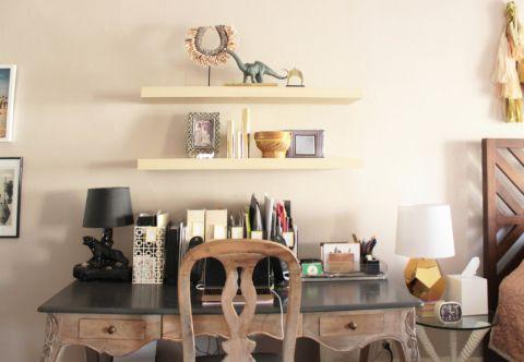 卧室书桌混搭风格装修效果图