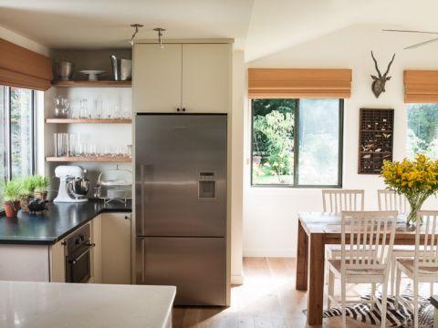厨房窗帘混搭风格装潢图片