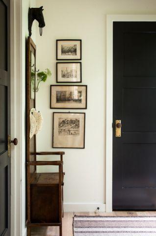 玄关照片墙混搭风格装饰设计图片