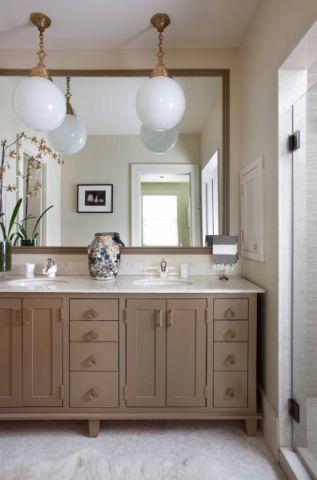 浴室吊顶现代风格装潢设计图片