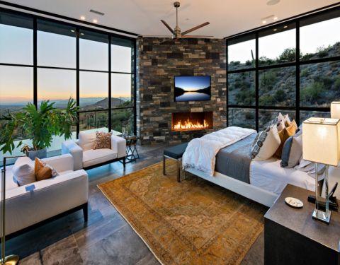 2018现代300平米以上装修效果图片 2018现代四居室装修图