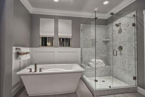 浴室窗帘现代风格装修效果图