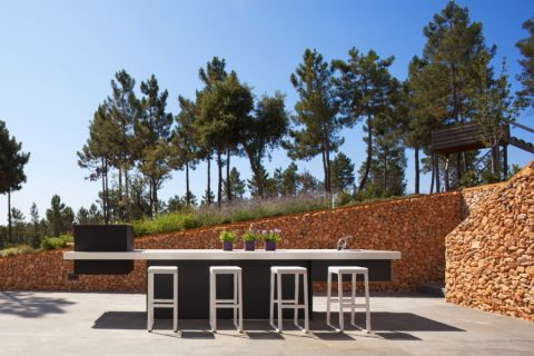 阳台吧台现代风格效果图