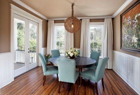 餐厅窗帘现代风格装饰效果图