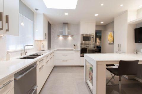 厨房现代风格效果图大全2017图片_土拨鼠温暖温馨厨房现代风格装修设计效果图欣赏