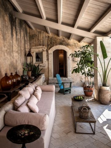 阳台沙发地中海风格装饰效果图