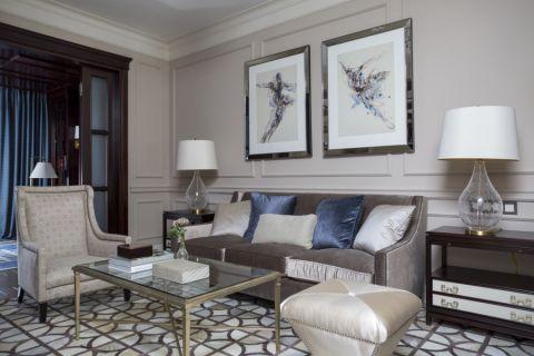 客厅现代风格效果图大全2017图片_土拨鼠豪华格调客厅现代风格装修设计效果图欣赏