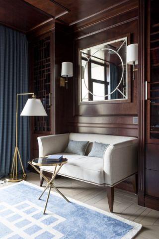 书房沙发现代风格装修图片