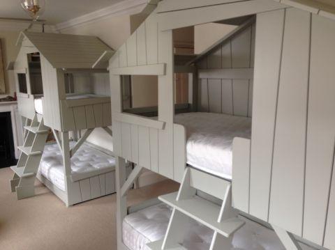儿童房床现代风格装饰设计图片