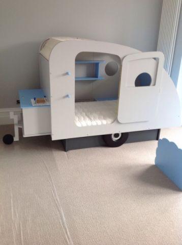 儿童房床现代风格装修图片