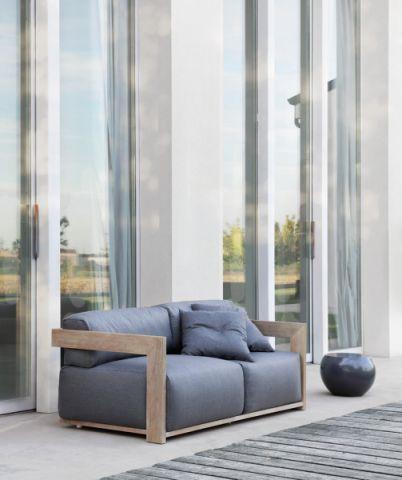 阳台沙发现代风格装潢图片