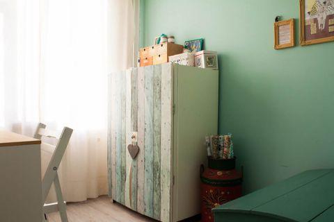 书房窗帘混搭风格装修设计图片