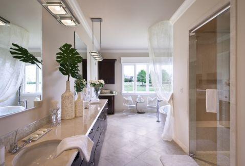 浴室现代风格效果图大全2017图片_土拨鼠精致奢华浴室现代风格装修设计效果图欣赏