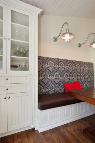 餐厅背景墙美式风格效果图
