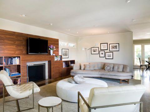 客厅照片墙现代风格效果图