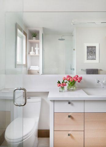 浴室细节现代风格装修设计图片