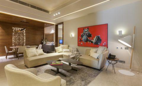 客厅现代风格效果图大全2017图片_土拨鼠温暖温馨客厅现代风格装修设计效果图欣赏