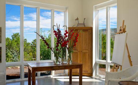 书房落地窗现代风格效果图