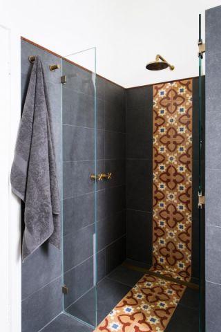 浴室混搭风格效果图大全2017图片_土拨鼠个性纯净浴室混搭风格装修设计效果图欣赏