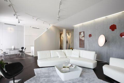 客厅现代风格效果图大全2017图片_土拨鼠优雅休闲客厅现代风格装修设计效果图欣赏