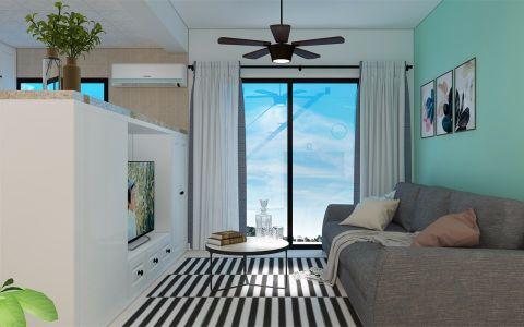 140平简约风格四室两厅两卫一厨装修效果图