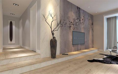 2019简约110平米装修图片 2019简约三居室装修设计图片