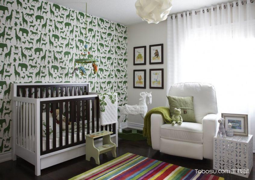 儿童房现代风格效果图大全2017图片