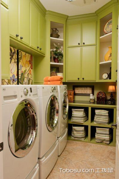 卫生间米色地砖混搭风格装修设计图片
