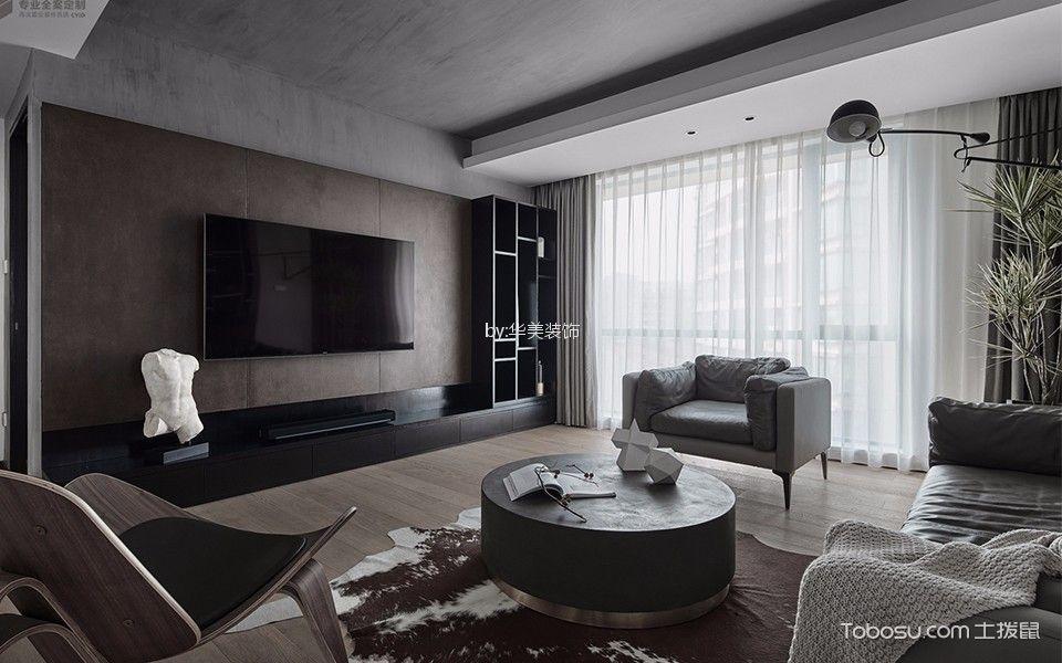 2018现代客厅装修设计 2018现代落地窗效果图