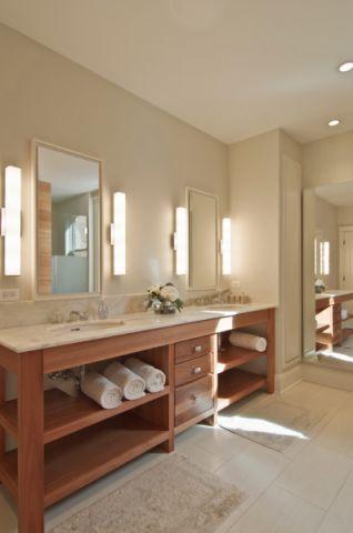 浴室现代风格效果图大全2017图片_土拨鼠休闲奢华浴室现代风格装修设计效果图欣赏