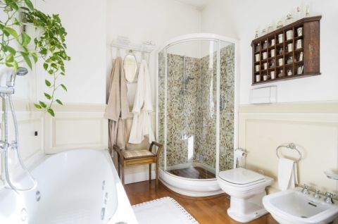 浴室美式风格效果图大全2017图片_土拨鼠豪华舒适浴室美式风格装修设计效果图欣赏