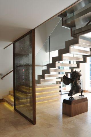 楼梯现代风格效果图大全2017图片