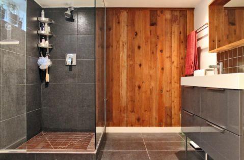 浴室隔断混搭风格装饰效果图