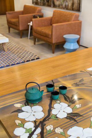 客厅现代风格效果图大全2017图片_土拨鼠浪漫淡雅客厅现代风格装修设计效果图欣赏