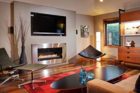 客厅现代风格效果图大全2017图片_土拨鼠浪漫雅致客厅现代风格装修设计效果图欣赏