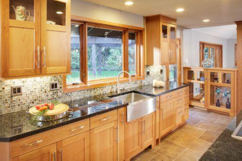 厨房窗台现代风格装修设计图片