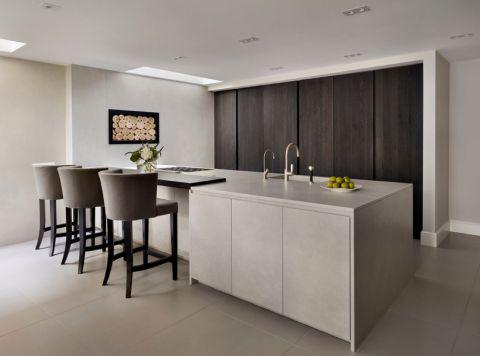 厨房现代风格效果图大全2017图片_土拨鼠潮流风雅厨房现代风格装修设计效果图欣赏