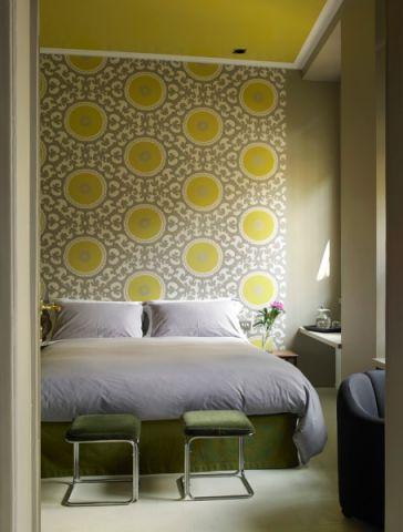 卧室现代风格效果图大全2017图片