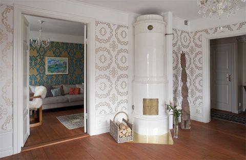 客厅隔断混搭风格装饰图片