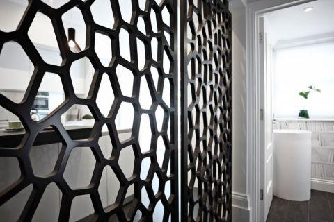 卫生间走廊现代风格装潢图片