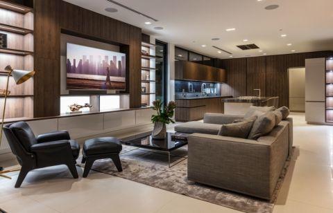 客厅现代风格效果图大全2017图片_土拨鼠个性清新客厅现代风格装修设计效果图欣赏