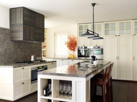 厨房现代风格效果图大全2017图片_土拨鼠温暖个性厨房现代风格装修设计效果图欣赏