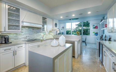 厨房现代风格效果图大全2017图片_土拨鼠个性创意厨房现代风格装修设计效果图欣赏