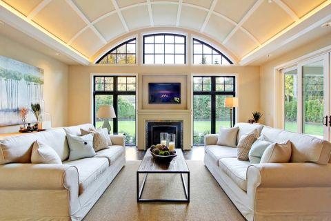 客厅现代风格效果图大全2017图片_土拨鼠现代质朴客厅现代风格装修设计效果图欣赏