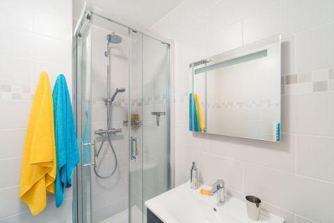 浴室北欧风格效果图大全2017图片_土拨鼠文艺沉稳浴室北欧风格装修设计效果图欣赏