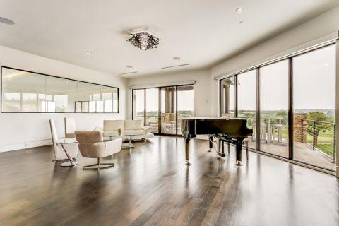 客厅现代风格效果图大全2017图片_土拨鼠极致舒适客厅现代风格装修设计效果图欣赏