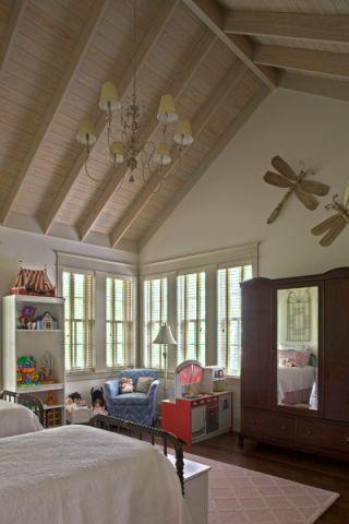 儿童房吊顶混搭风格装修效果图