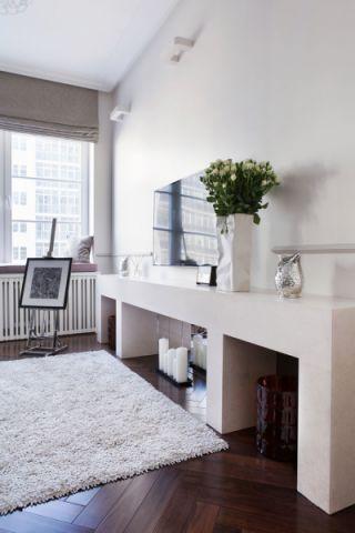 客厅电视柜现代风格装饰效果图
