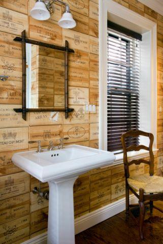 浴室混搭风格效果图大全2017图片_土拨鼠温馨奢华浴室混搭风格装修设计效果图欣赏
