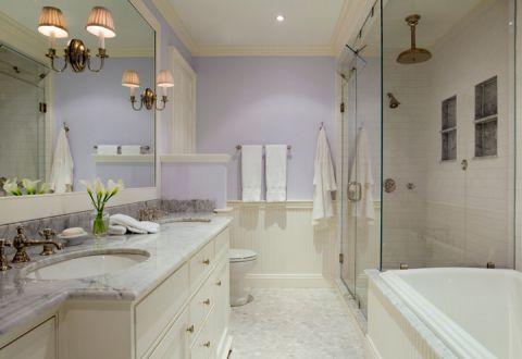 浴室隔断混搭风格装潢设计图片